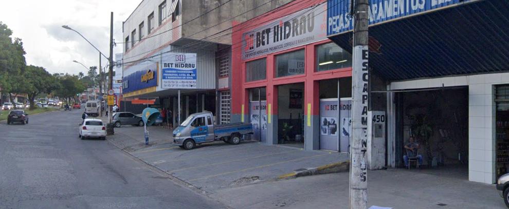Novo decreto autoriza alguns estabelecimentos funcionarem durante a pandemia de covid-19 em Betim (Imagem Street View)