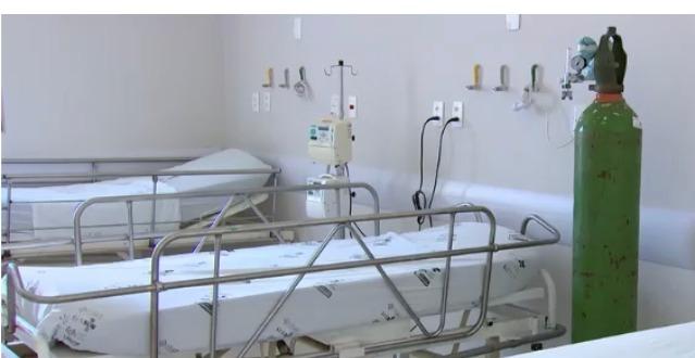Leitos no Hospital Municipal de Contagem (Imagem Bruna Alves/Prefeitura de Contagem)