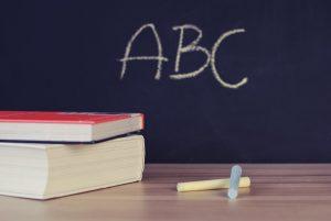 Quadro de sala de aula