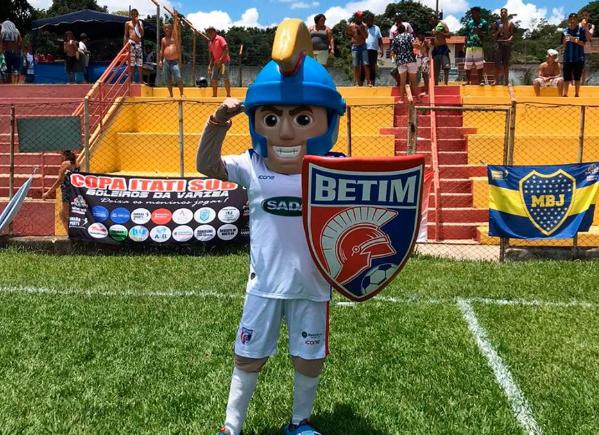 Mascote do time Betim Futebol