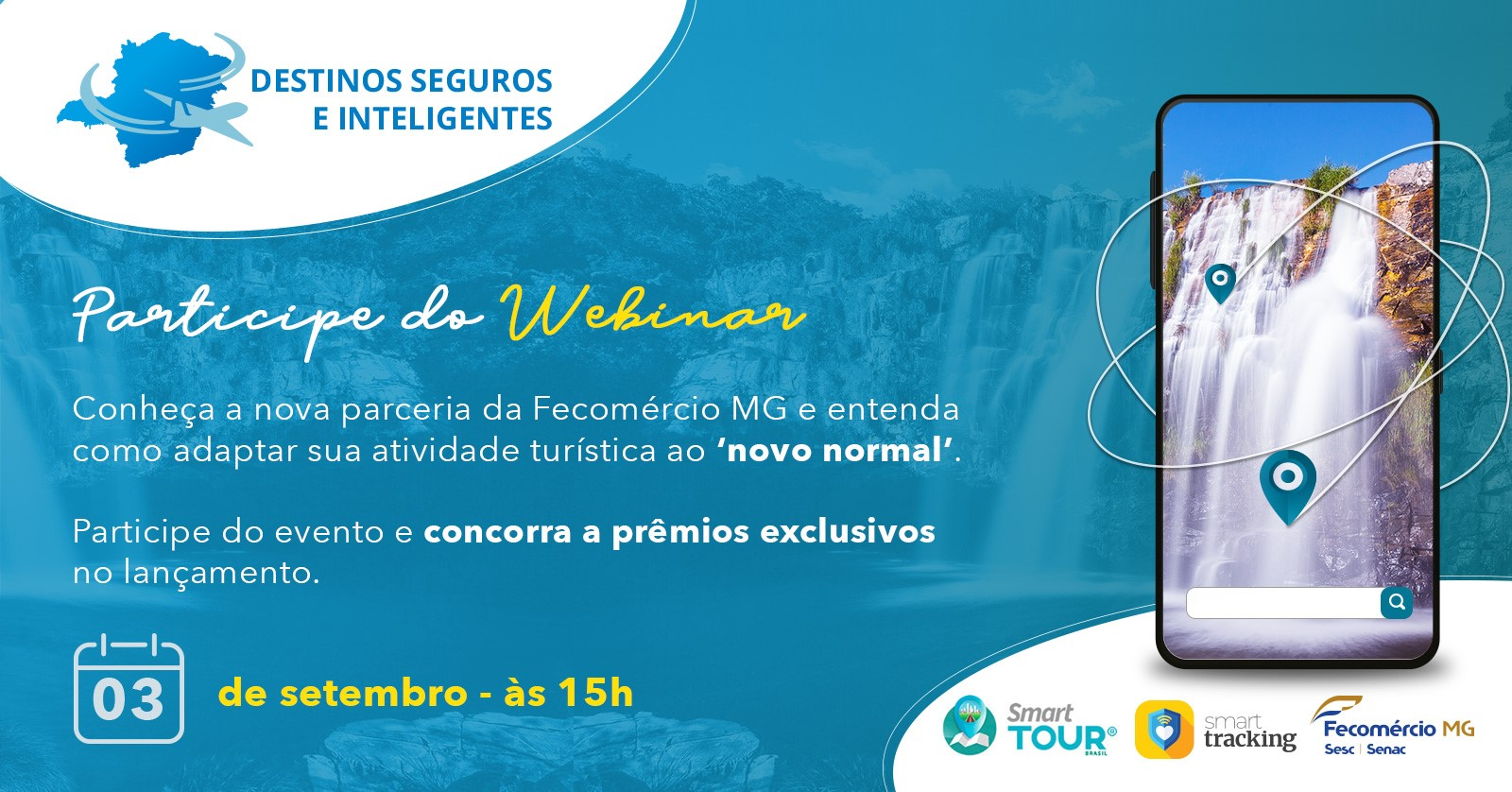 Webinar Fecomércio MG e Smart Tour