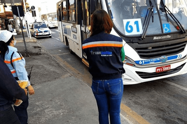 Linha do transporte de baixa capacidade em Betim