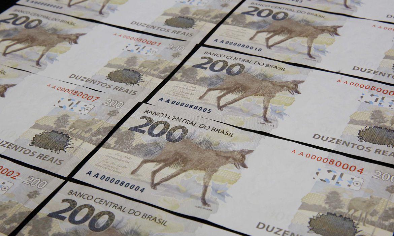 Nova cédula de R$ 200