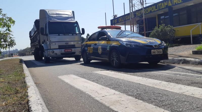 PRF recupera em Betim 15 toneladas de leite em pó roubados
