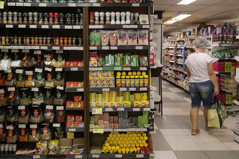 Supermercado na zona sul do Rio de Janeiro.