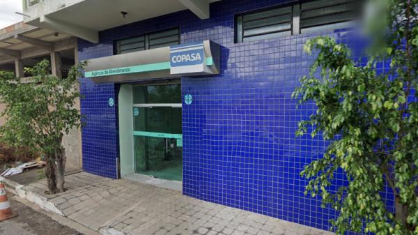 Agência Copasa no bairro Jardim Teresópolis Betim (Imagem Reprodução/Street View)