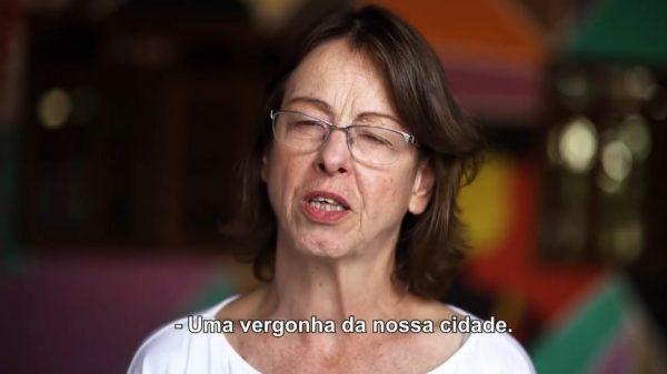 Maria do Carmo Lara em vídeo publicado nas redes sociais 1.out.2020 (Imagem Reprodução Facebook)