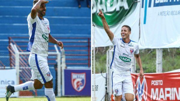 Alisson e Gabriel Ferreira marcam para o Betim em vitória sobre o Pouso Alegre (Imagens Felipe Augusto Correia/Betim Futebol)