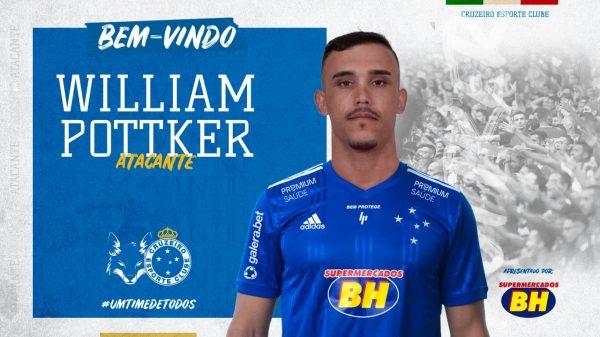 Cruzeiro anuncia contratação de William Pottket (Imagem Cruzeiro Divulgação)