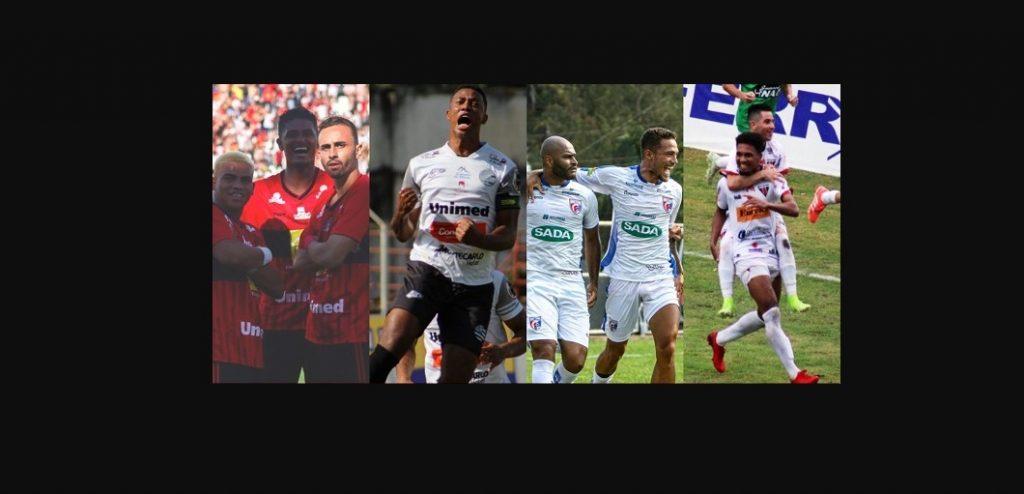 Pouso Alegre, Athletic, Betim e Nacional se classificaram para os jogos do quadrangular final do Módulo II (Imagem Site FMF)