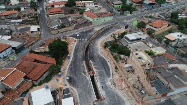 Avenida Vasco Santiago, em Betim (Imagem PMB/Divulgação)