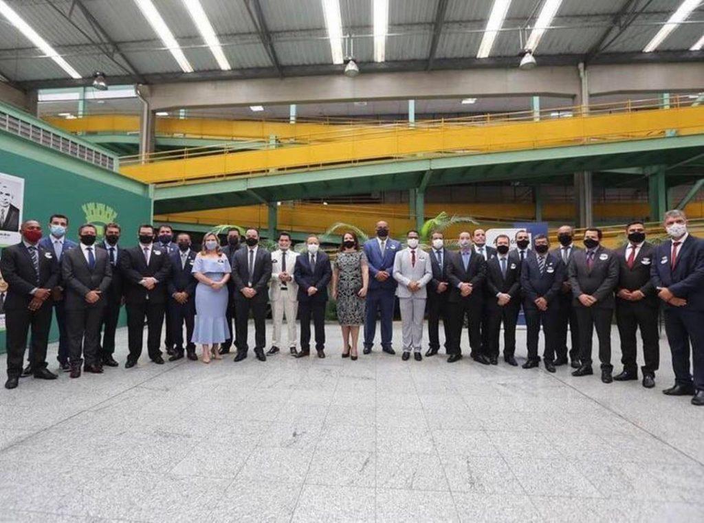 1.jan.2021 - Cerimônia de posse dos eleitos em Betim (Foto: Jonathan Pires/Câmara Municipal de Betim)