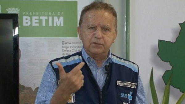 6.JAN.2021 - Prefeito Vittorio Medioli anuncia novas restrições para comércio em Betim (Imagem Reprodução Facebook)