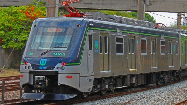 Composição do Metrô de Belo Horizonte