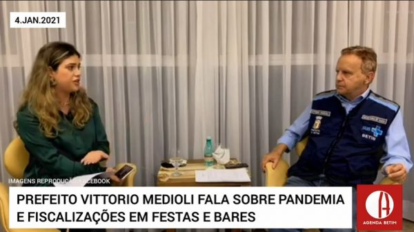 Prefeito Vittorio Medioli fala sobre pandemia e fiscalizações em festas e bares