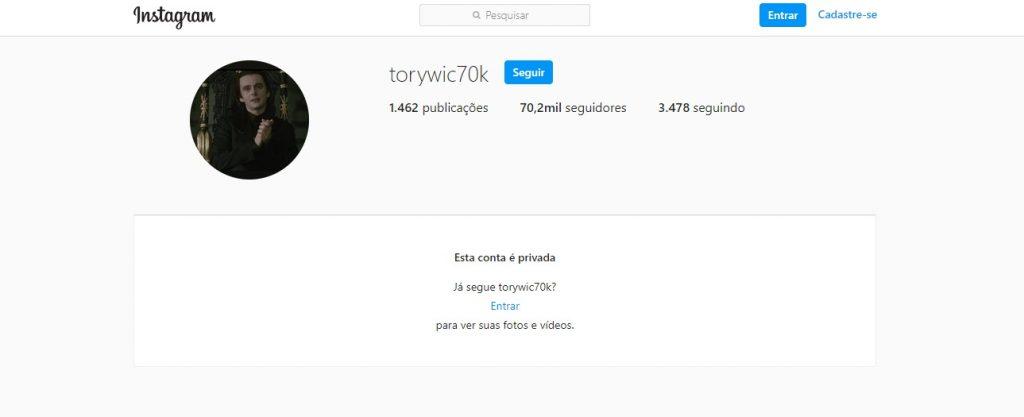 Conta no Instagram do Partage Shopping Betim hackeada (Imagem Reprodução)