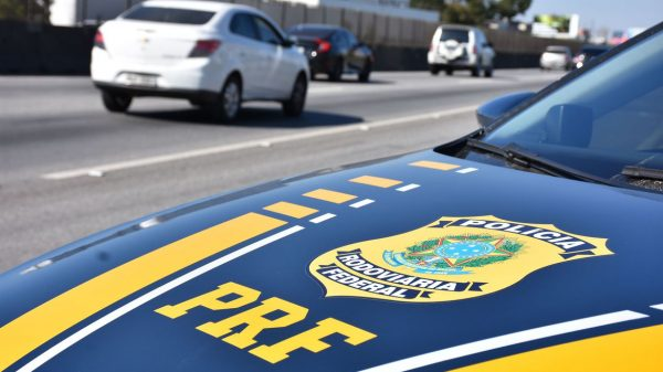 Viatura da Polícia Rodoviária Federal