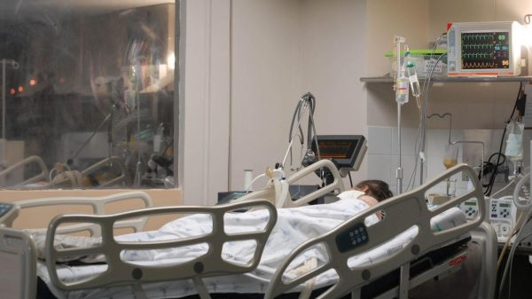 Paciente em leito de internação (Imagem Marcello Casal Jr Agência Brasil)