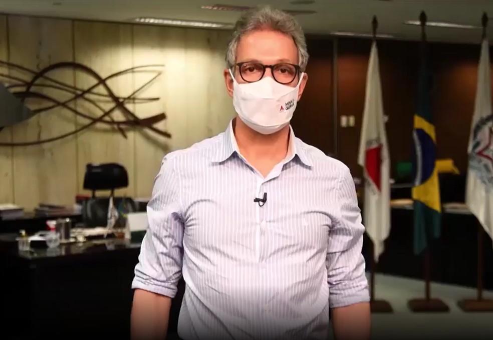 Governador Romeu Zema anuncia medidas restritivas para conter a Covid-19 em Minas Gerais