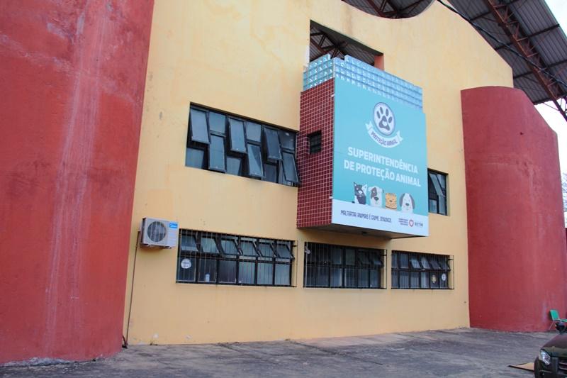 Sede da Superintendência de Proteção e Bem-Estar Animal - Sepa (Imagem PMB Divulgação)
