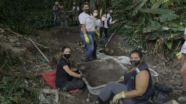 Meio Ambiente recupera nascente no parque Chico Mendes em Betim (Imagem PMB Divulgação)