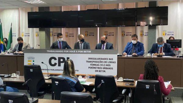 02.jun.2021 - Câmara Municipal de Betim realiza primeira audiência da CPI da VLI (Imagem Diretoria de Comunicação Social/Divulgação)