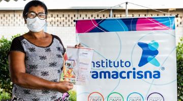Instituto Ramacrisna distribui vales-alimentação para famílias da Grande BH
