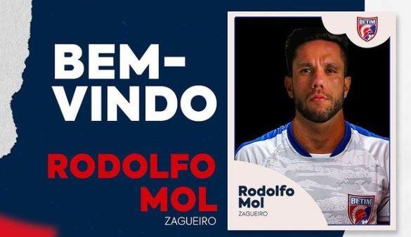 Rodolfo Mol é anunciado no Betim Futebol