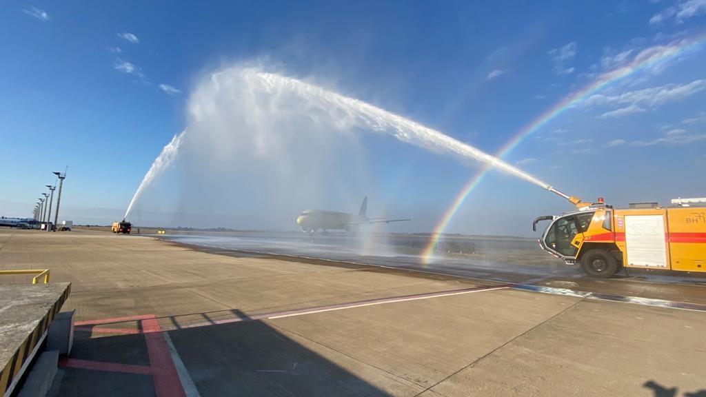 Aeroporto Internacional de BH tem voo inaugural da Itapemirim - Foto Divulgação