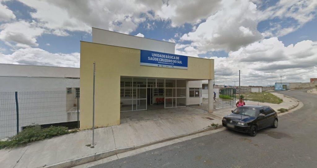 Fachada UBS Cruzeiro do Sul
