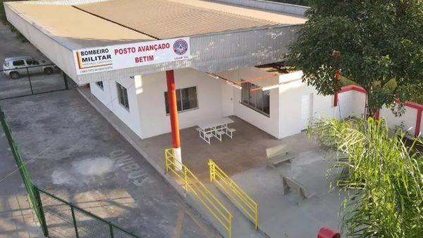 Posto avançado do Corpo de Bombeiros em Betim será inaugurado na sexta-feira - Imagem PMB Divulgação