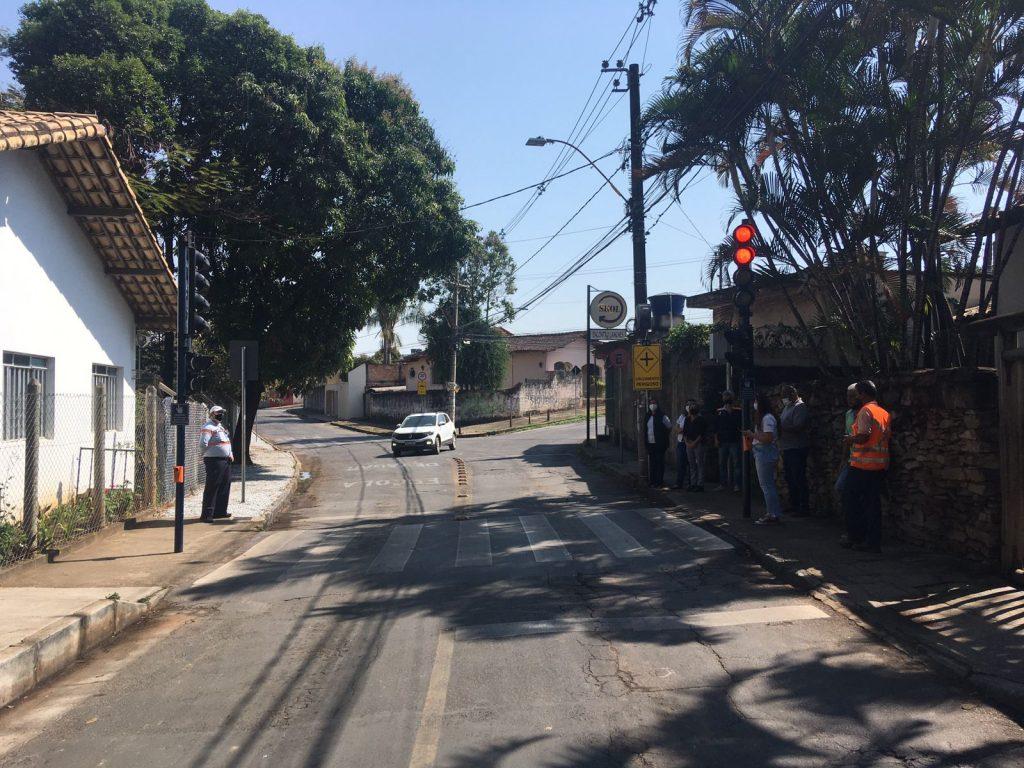 Semáforos entram em operação próximo ao Salão do Encontro - Foto PMB Divulgação
