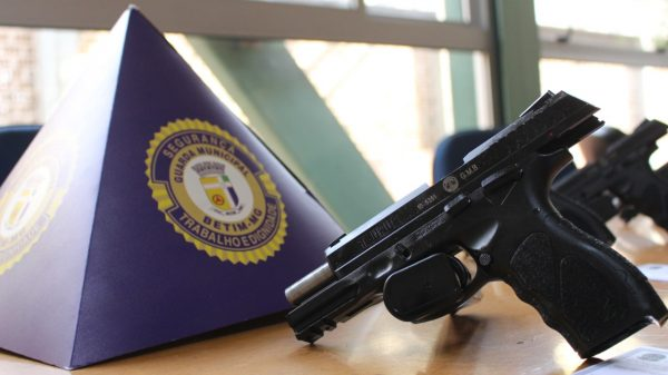 Armamento Guarda Municipal (Foto Jhonathan Lewinsky PMB)