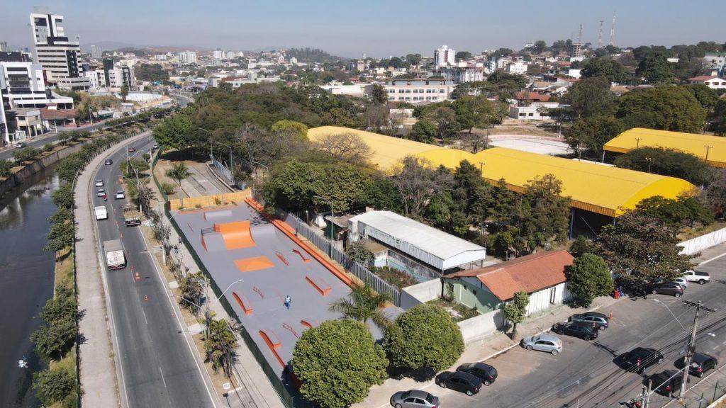 Pista de skate do horto Municipal, em Betim (MG)