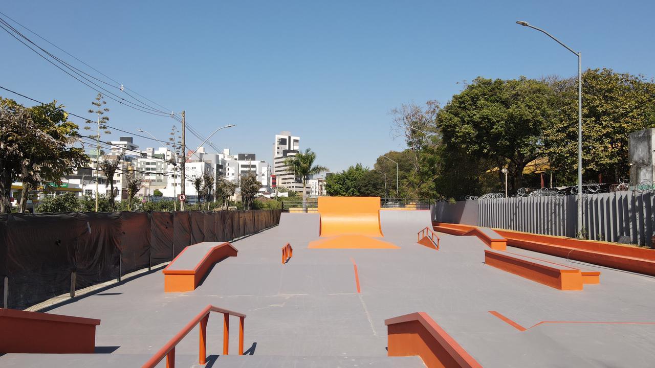Nova pista de Skate no Horto Municipal de Betim