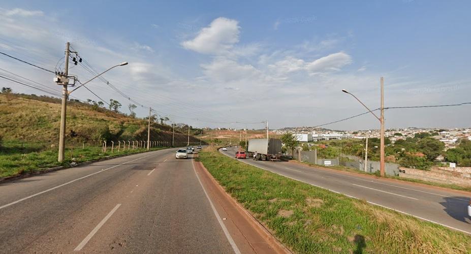 Trecho na Via Expressa, em Betim - Imagem Reprodução/Street View